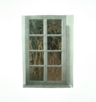 Flesh WIndow (one way mirror for MD), 2012.